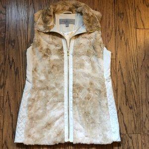Andrew Marc Faux Fur Vest